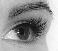 Eyelash extensions after photo Emma